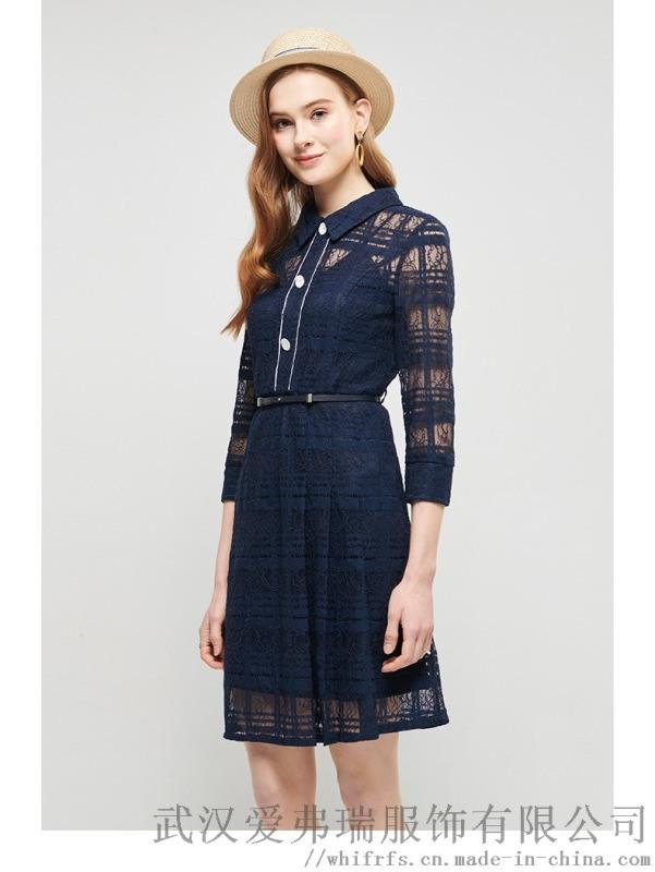 【代销货源】怎样去服装厂拿货东方巴黎拼接刺绣裙子
