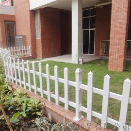 河南白色花坛栅栏园林绿化带草坪护栏工厂直销