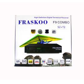 外贸2018新款combo机fraskoo f9combo 高清机顶盒