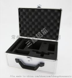 黑色 铝合金无人机拉杆箱 航空箱