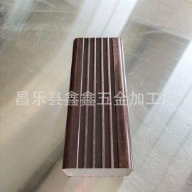 北京供应铝合金排水管 铝方管和圆管对比