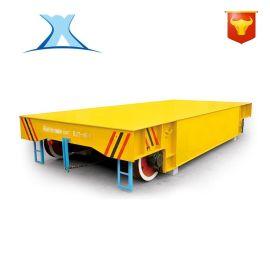 定做拖纜智慧平臺車20噸 廠家直銷回轉支撐轉彎式電動平板車
