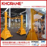 DEMAG德马格500kg移动旋臂吊 手推旋臂式工字钢移动悬臂吊起重机