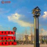 AEAE-JGD-01 景观灯厂家定制直销中式复古3米金属亚克力广场小区景点别墅led景观灯