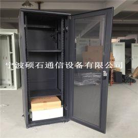 22U网络服务器机柜 玻璃门网络机柜
