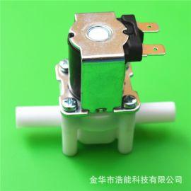两头三分9.5mm快插软管接口电磁水阀品牌漆包线全铜线