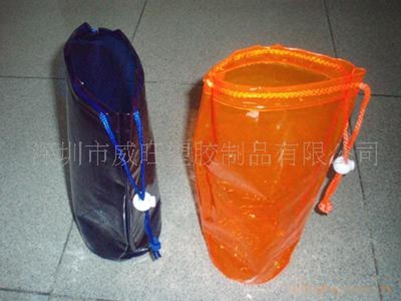 深圳厂家生产 PVC穿绳袋