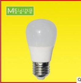 新款LED球泡灯陶瓷散热隔离智能电源3W 5W E27螺口节能灯泡光源灯