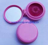 供應兒童摺疊鏡梳、口袋禮品梳、便攜雙面鏡梳