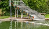 新款夏季水上滑滑梯水上乐园户外亲子乐园游泳馆滑梯