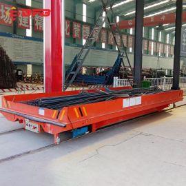 钢铁厂工厂平板车 物料搬运车结构