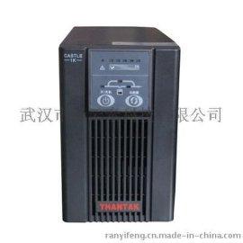 美国山特UPS不间断电源C1K高频式1000VA/800W在线式内置电池电源