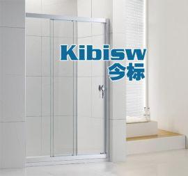 LR-009铝合金淋浴屏,8MM钢化玻璃淋浴隔断