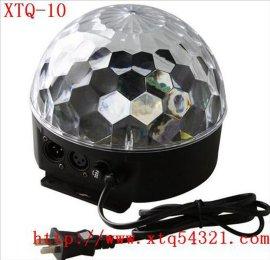迷你LED水晶魔球灯  工厂直销水晶魔球灯声控自走