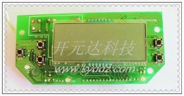 带LCD液晶显示器全自动防干烧蒸炉控制板 电路板线路板开发设计