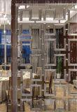 不锈钢屏风加工定制不锈钢隔断加工 优质不锈钢花格装饰加工 佛山林方不锈钢