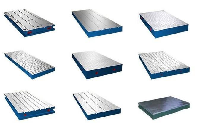 河北大恒数控龙门铣床铸件平板通用性