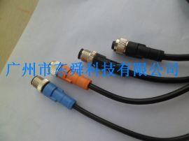 国产连接器,连接线,传感器连接线 连接线 m12连接器 防水连接器