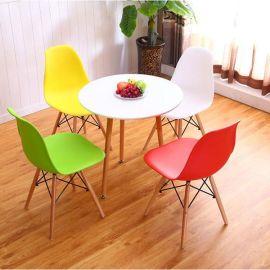 伊姆斯椅子批发 北欧时尚餐椅 简约塑料椅 创意休闲办公椅 咖啡椅