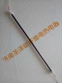 中波红宝石碳纤维石英电热管