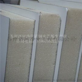聚氨酯夹芯板 保温耐火板材 彩钢净化板