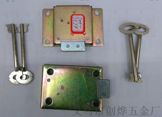 傢俱櫥櫃保險箱用 葉片鎖