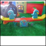 幼儿动物双人小象翘翘板  摇摇乐 摇马