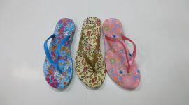 PVC吹气拖鞋(609)