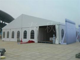 亚太人字顶18米跨度铝合金展览篷房