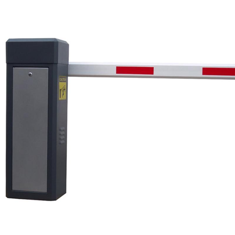 直杆栅栏道闸 停车场收费 车牌识别系统蓝牙遥控广告道闸自动抬杆