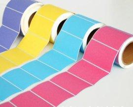 不干胶贴纸 彩色不干胶 透明不干胶
