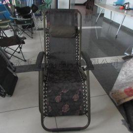 豪华特斯林加固两用加长午休办公电脑椅沙滩折叠躺椅CY-224