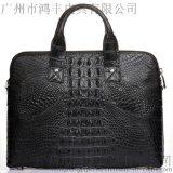 北京私人定制鳄鱼皮包 加工品牌包包HF823