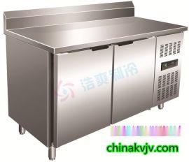 上海厂家直销不锈钢沙拉工作台_保鲜工作台