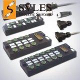 SVL M8 12端口 总线分配器 集线器 FESTO Murr Phoenix 分线盒