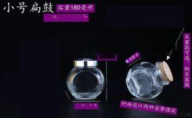 许愿玻璃瓶 工艺玻璃制品 卡通玻璃瓶批发