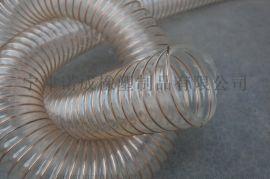 PU木工吸尘软管、PU软管聚氨酯钢丝管、山东诺成橡塑