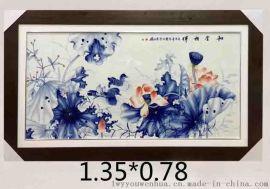 瓷板画生产厂家 景德镇陶瓷厂家 瓷板画批发价格