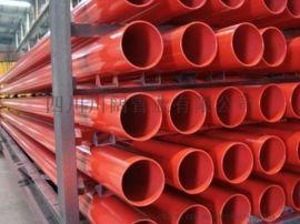 内外涂环氧树脂复合钢管   内外环氧复合钢管