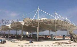 湖北遮阳篷膜结构 鄂州膜结构充电站制作