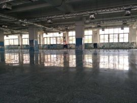 广州水磨石地面打磨抛光,广州地下车库无尘处理