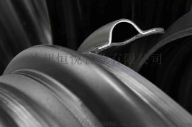8刚度HDPE钢带管DN300多少钱