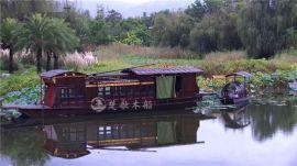 厂家定做16米嘉兴南湖红船 一大会议红船