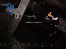皮带运输机头部卸载滚筒清扫器