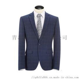 青岛**西服套装定做厂家黄岛办公室职业西装供应