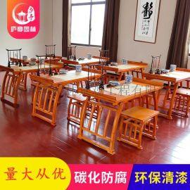 实木仿古琴桌琴凳古琴桌凳国学书法桌古筝桌厂家直销
