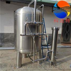 污水处理—不锈钢石英砂/锰砂/多介质机械过滤器