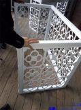 外牆空調罩鋁單板展示圖 雕花鋁單板設計生產安裝