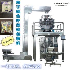 电子组合秤立式自动包装机 山东大蒜包装机械厂家