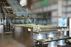 大产能半干粉生产线全线运作只需3人